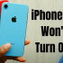 iPhone XR Won't turn on? Here Is The Fix